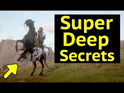 Horse Stowing Secrets in Red Dead Redemption 2 (RDR2) - Anim