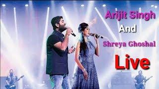 Arijit singh and shreya ghoshal live 2018 | vs full hd video edited by music- sk performance sun raha hai n...
