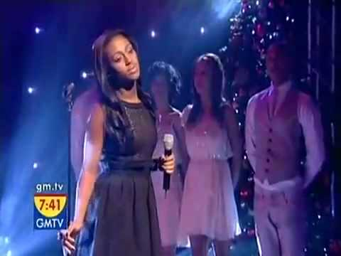Alexandra Burke Live On GMTV!!  Singing Hallelujah!