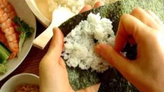 寿司 作り方 巻き の
