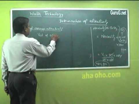 Unit-1 Water Technology (Characteristics,Alkalinity,Detemination,Problems) - Chemistry