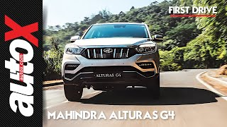 Mahindra Alturas G4 Review | First Drive | autoX