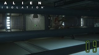 ALIEN ISOLATION #09 - Kommunikation deaktiviert ★ HD+ / 60fps ★ ( German / Deutsch ) [ PS4 ]
