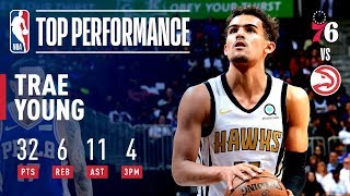 Trae Young Drops 32 Points, 11 Assists & The Game-Winner! | March 23, 2019