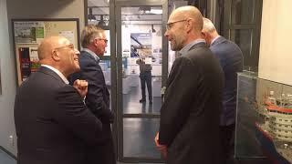Opening expositie 'Zand in beweging' in het Nationaal Baggermuseum Sliedrecht