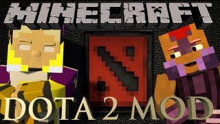 Minecraft Dota 2 Mod Showcase!