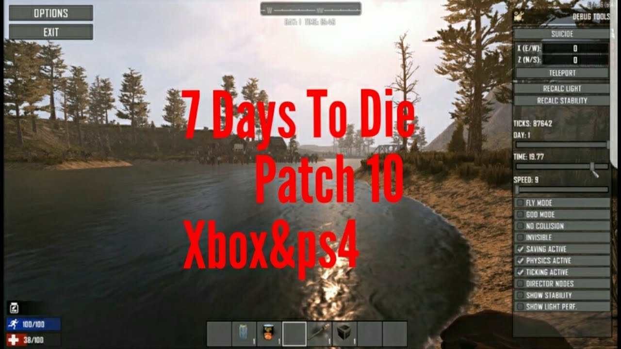 7 days to die god mode ps4