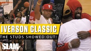 Zapętlaj Kentucky Commit Drops 40 in front of NBA Stars at Iverson Classic! | SLAM HS