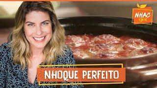 Nhoque de ricota com limão siciliano, tomilho e molho de tomate | Rita Lobo | Cozinha Prática