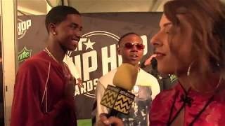 King Combs and Bay Swag at BET Hip Hop Awards