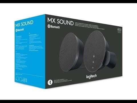 Diffusori Bluetooth Spettacolari !!!   Logitech MX Sound