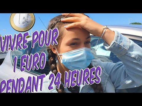 Download #2  //  J'ESSAIE DE VIVRE POUR 1 EURO PENDANT 24 HEURES😰. Mademoiselle Sabina.