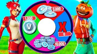 WHO WILL WIN 13,000 V-BUCK ON FORTNITE?