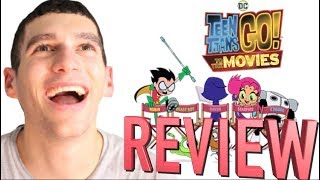 TEEN TITANS GO! TO THE MOVIES - Movie Review thumbnail