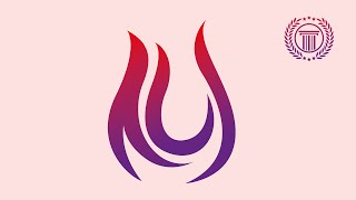 How to Design a Flame or Fire Logo design in Adobe Illustrator | logo design illustrator
