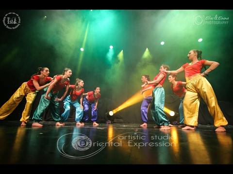1234 Get on the Dance Floor  Mega Bollywood Show  1st Bollywood Dance Academy Greece