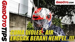 Modal Rp 30 Ribuan Bikin Air Anti Nempel di Visor Helm   How To   GridOto Tips
