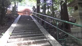 【和爾下神社】和爾下神社古墳【前方後円墳の上にある神社】