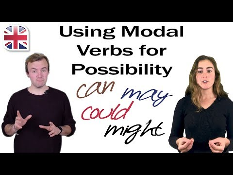 English Modal Verbs - May, Might, Could, Can - Talking About Possibilities