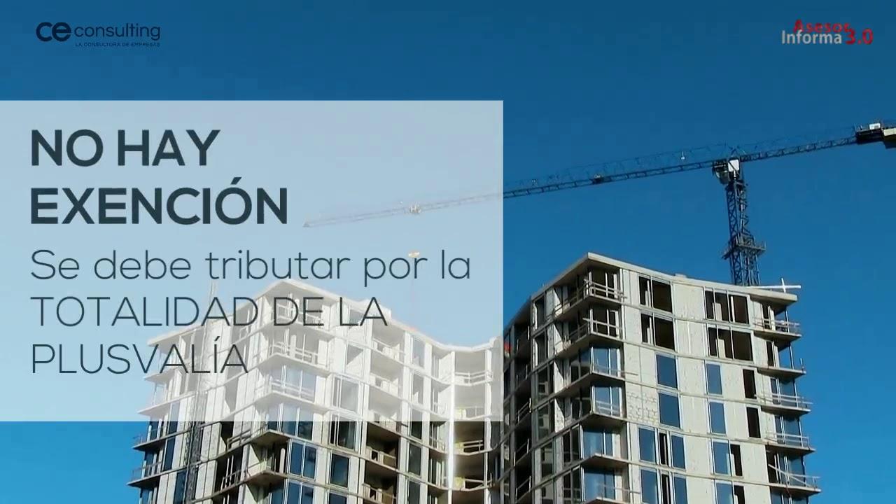 No tributar por la plusvalía obtenida en la venta de una casa | Asesor Informa 3.0