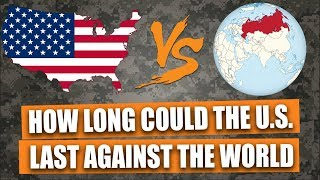 How long would the U.S. last against the rest of the world?