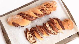 Braided Nutella Bread Recipe - Laura Vitale - Laura In The Kitchen Episode 824