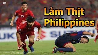 Thử Thách Bóng Đá đi xem Công Phượng , Quang Hải và ĐT Việt Nam làm thịt Philippines AFF CUP 2018