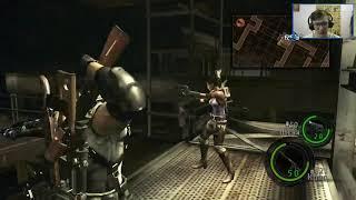 Resident Evil 5 Кооп с Rossofcourse #3 Финал