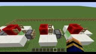 minecraft - random redstone - #55 moving train