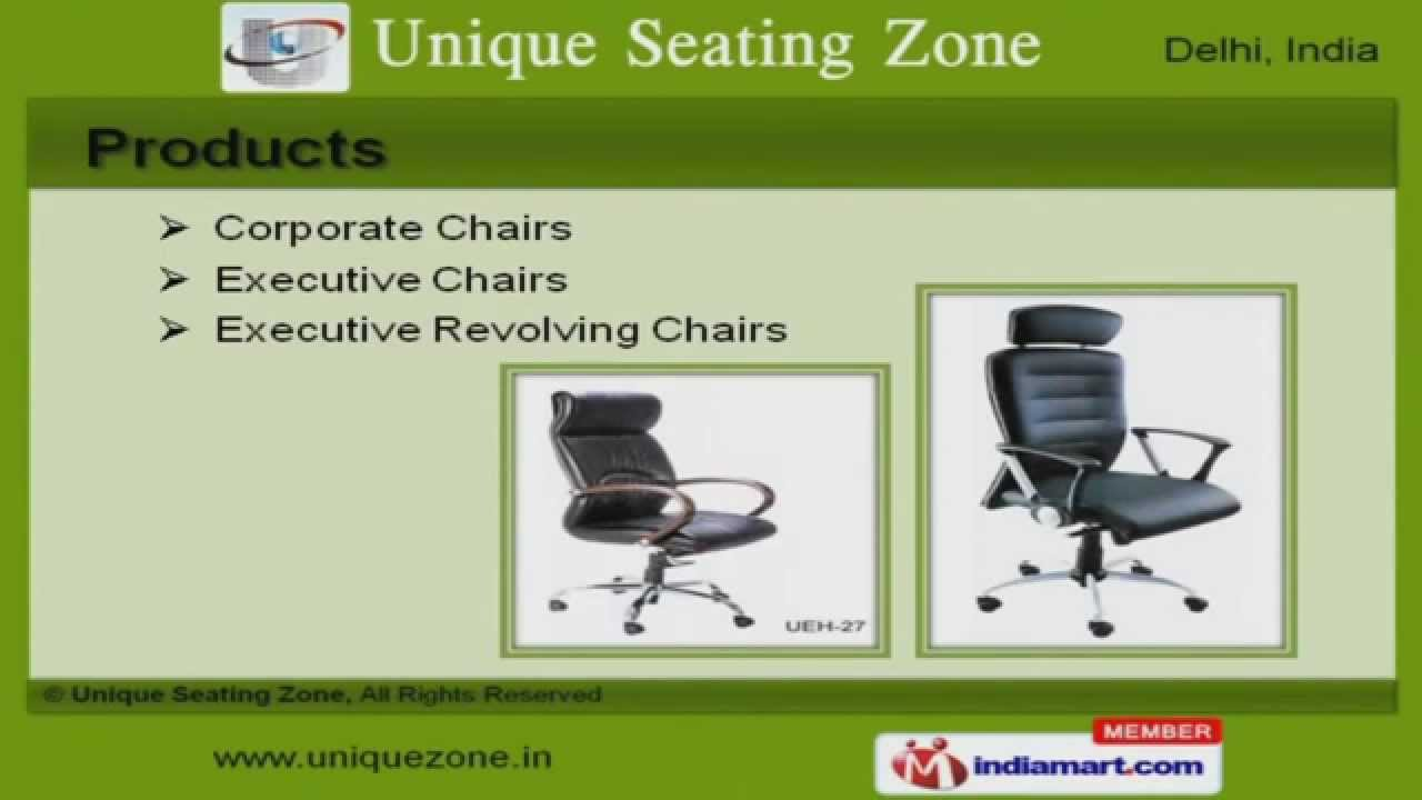 office and modern furniture by unique seating zone new delhi youtube