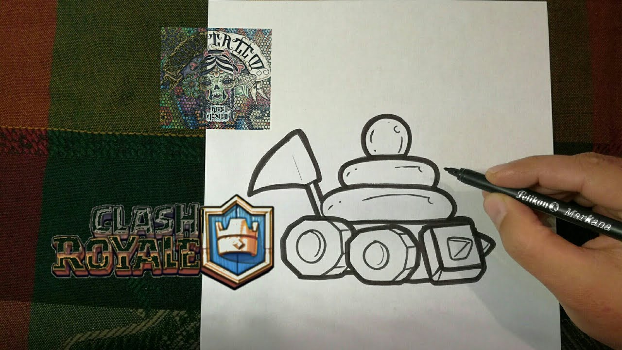 Dibujos Para Dibujar De Clash Royale: COMO DIBUJAR LOS ELECTROCUTADORES