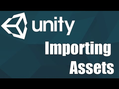Unity3d - Importing Assets