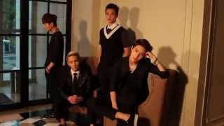 130502 SHINee & f(x) Victoria: High Cut Photoshoot Making Film