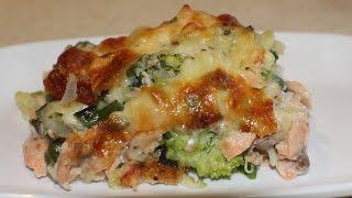 Salmon & Vegetable Pasta Bake (easy Meals)