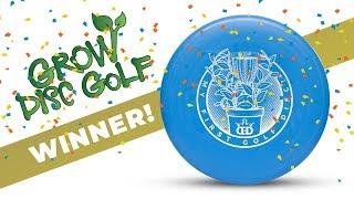 My First Golf Disc Grand Prize Winner!