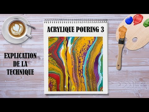 tuto acrylique pouring 3 youtube. Black Bedroom Furniture Sets. Home Design Ideas