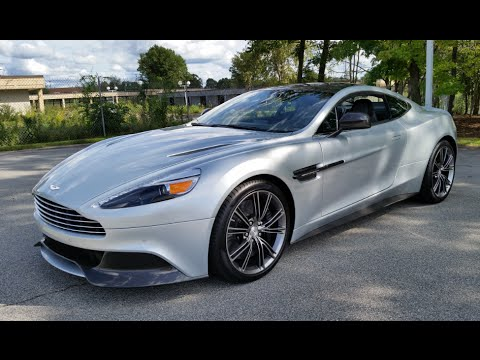 2015 aston martin vanquish: start up, exhaust and review - youtube
