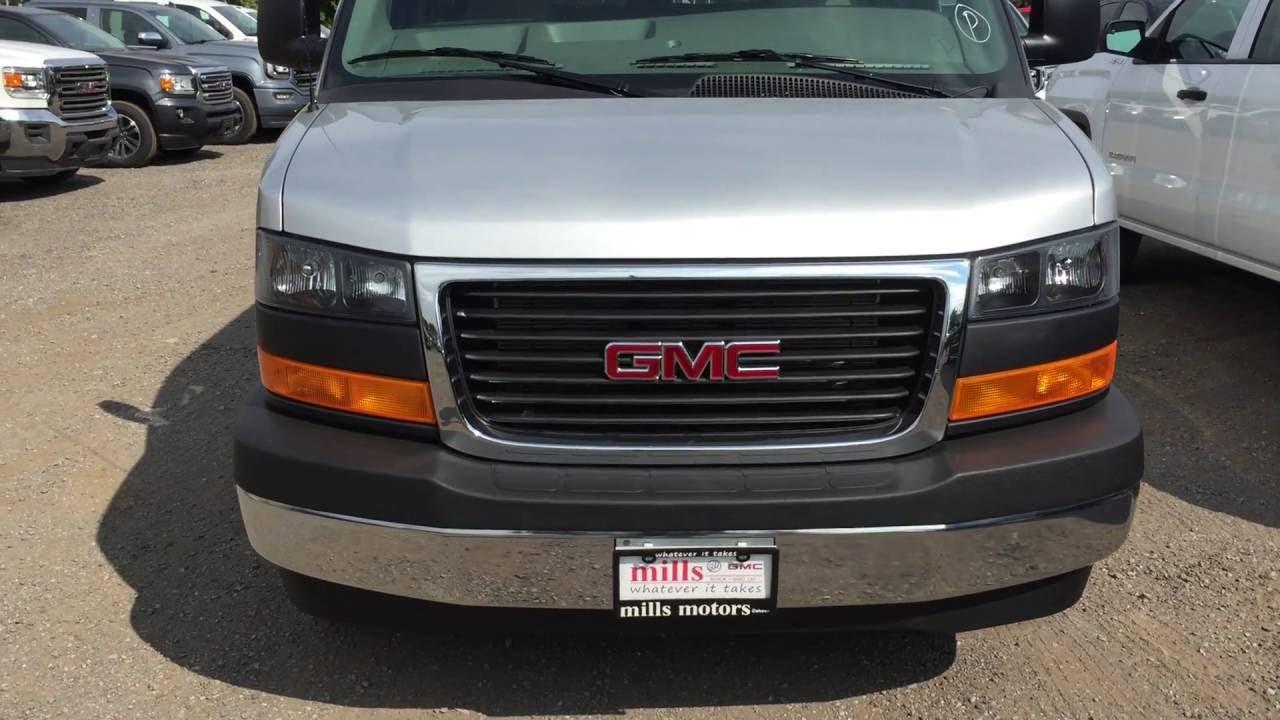 2017 Gmc Savana 3500 Passenger Rear Wheel Drive Silver Oshawa On