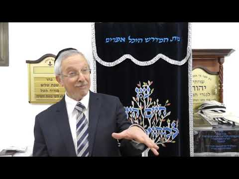 הרב מרדכי נויגרשל HD אם בחוקותי תלכו, שתהיו עמלים בתורה