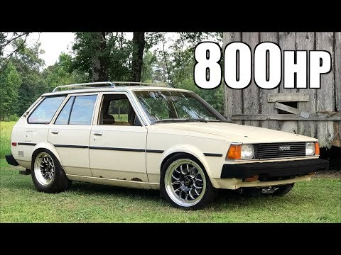 800HP Sleeper Station Wagon Encounters Police (Best Excuse Ever) - Barn Find For $100