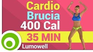 Allenamento Total Body Cardio - Brucia 400 Calorie a casa