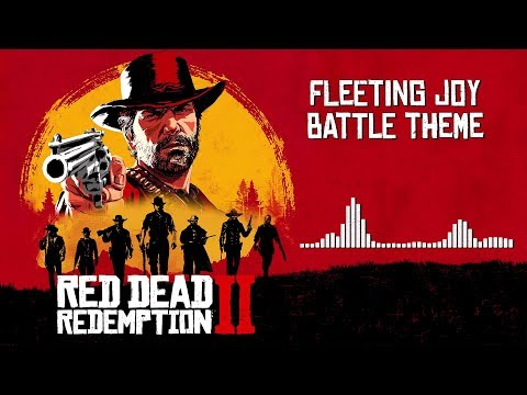Red Dead Redemption 2  Soundtrack - Fleeting Joy Battle Theme   With Visualizer