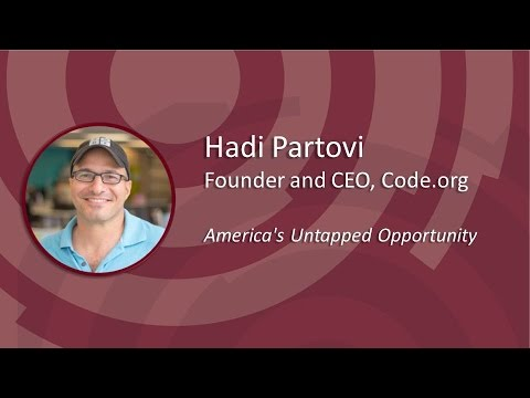 Hadi Partovi 2016 OETC Afternoon General Session, Wednesday, February 10, 2016