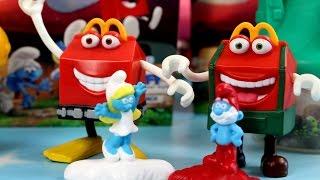 Happy Meal w wiosce Smerfów   Smerfy Poszukiwacze Zaginionej Wioski & McDonalds   Bajki dla dzieci