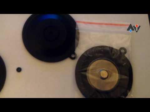 Ремкомплект Нева 5514 с кольцом и мембраной доработка АТ #3