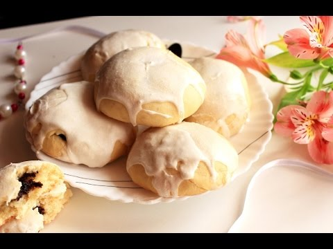 Пряники на кефире с маковой начинкой \\ Gingerbread On Kefir
