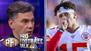 NFL Week 10 Superlatives: Kansas City Chiefs fall in Nashville | Pro Football Talk | NBC Sports