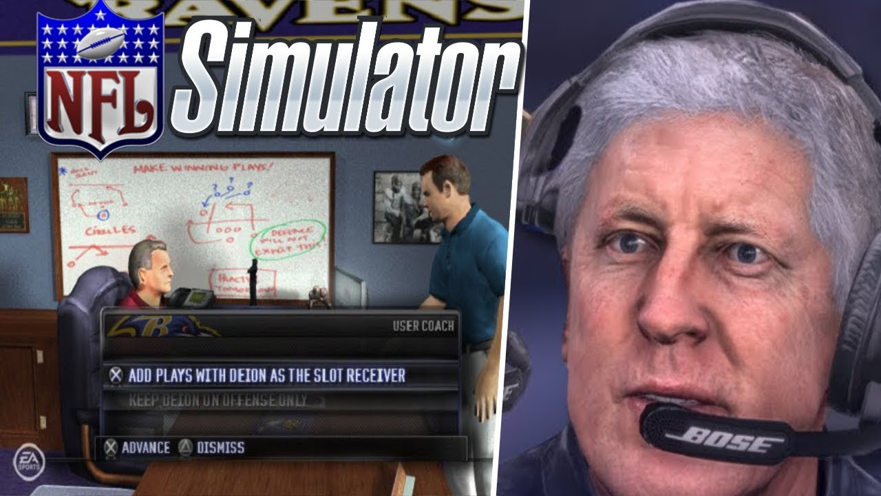 *NEW* NFL COACH SIMULATOR GAME!