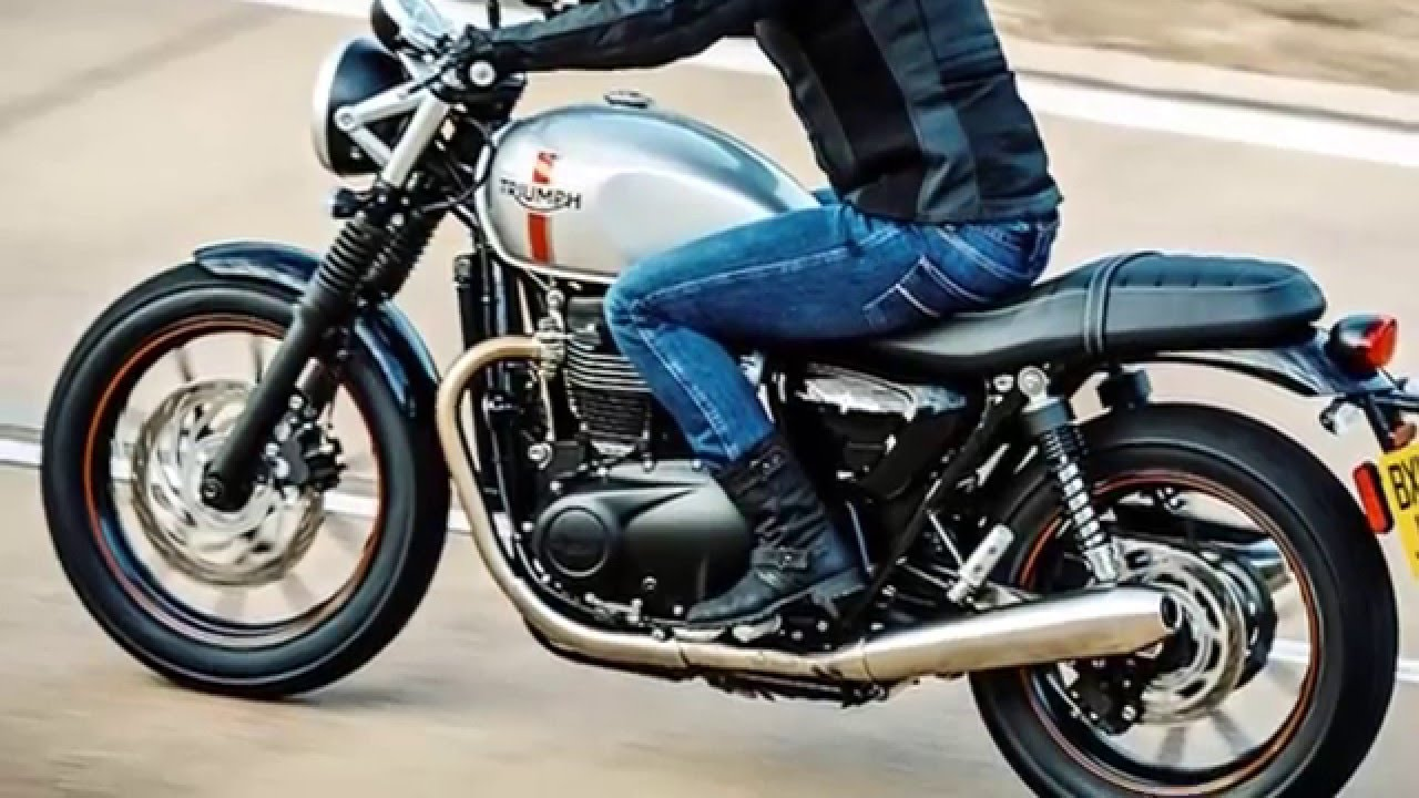 2016 Triumph Street Twin First Ride Hot And New Clasic Style Youtube