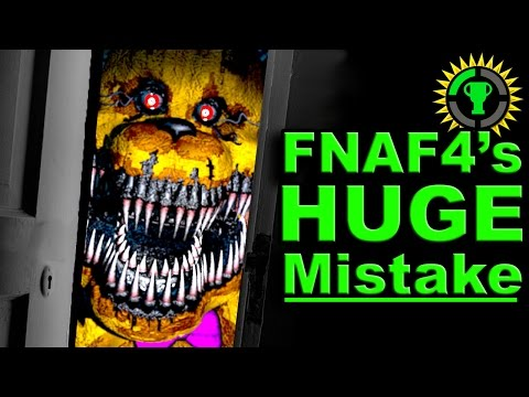 Game Theory: FNAF 4 got it ALL WRONG!